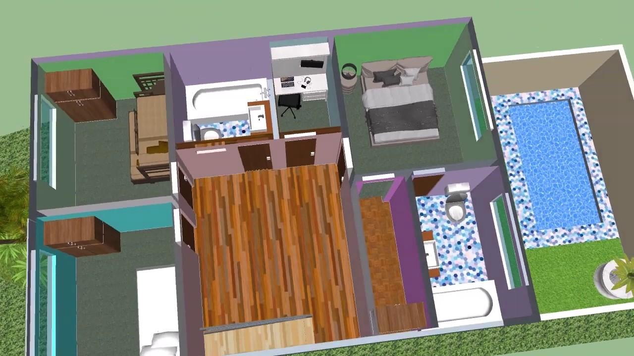 Casa 7 x 15 m house 7 x 15 m terreno 7x15 m youtube - Terreno con casa ...