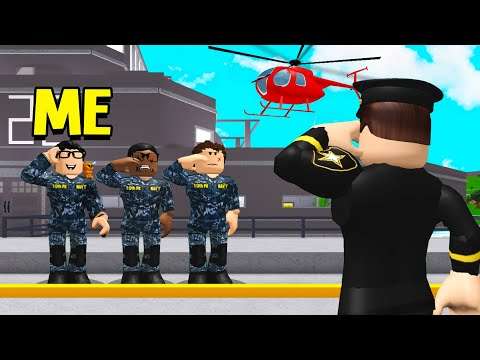 I Joined The NAVY.. They Hid A SECRET In Their SHIP! (Roblox Bloxburg)