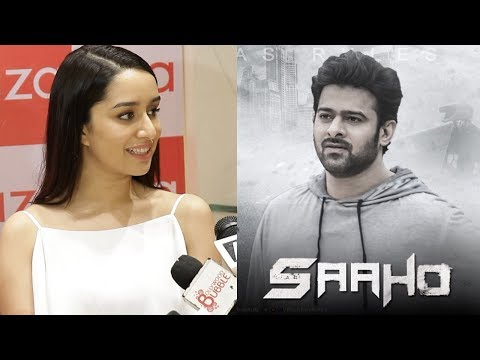 Shraddha Kapoor's SWEET Reaction On Working With Prabhas In Saaho