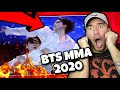 BTS MMA 2020 Full Performance (REACTION!!)