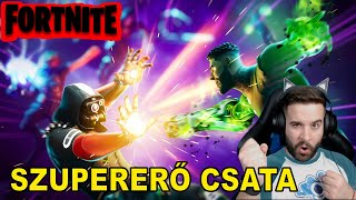 FORTNITE SZUPERERŐ CSATA | Marvel Takeover LTM a Fortniteban