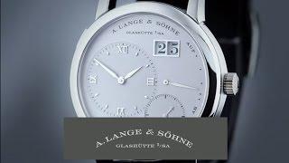 Die Legende unter den Lange-Uhren: LANGE 1 – A. Lange & Söhne