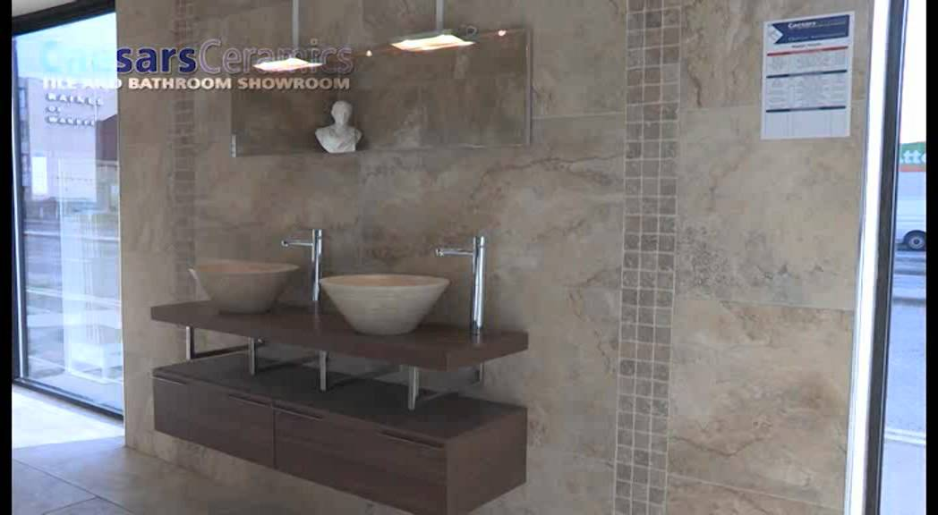 Bathroom Tiles Showroom caesars ceramics tile and bathroom showroom wakefield - youtube