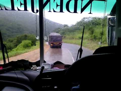 At Kitonga Mountain With The Female Bus Driver Of NDENJELA BUS In Tanzania