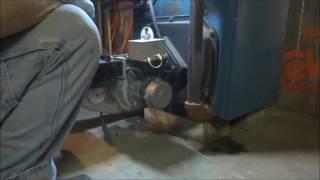 beckett oil burner making bad vibration noise