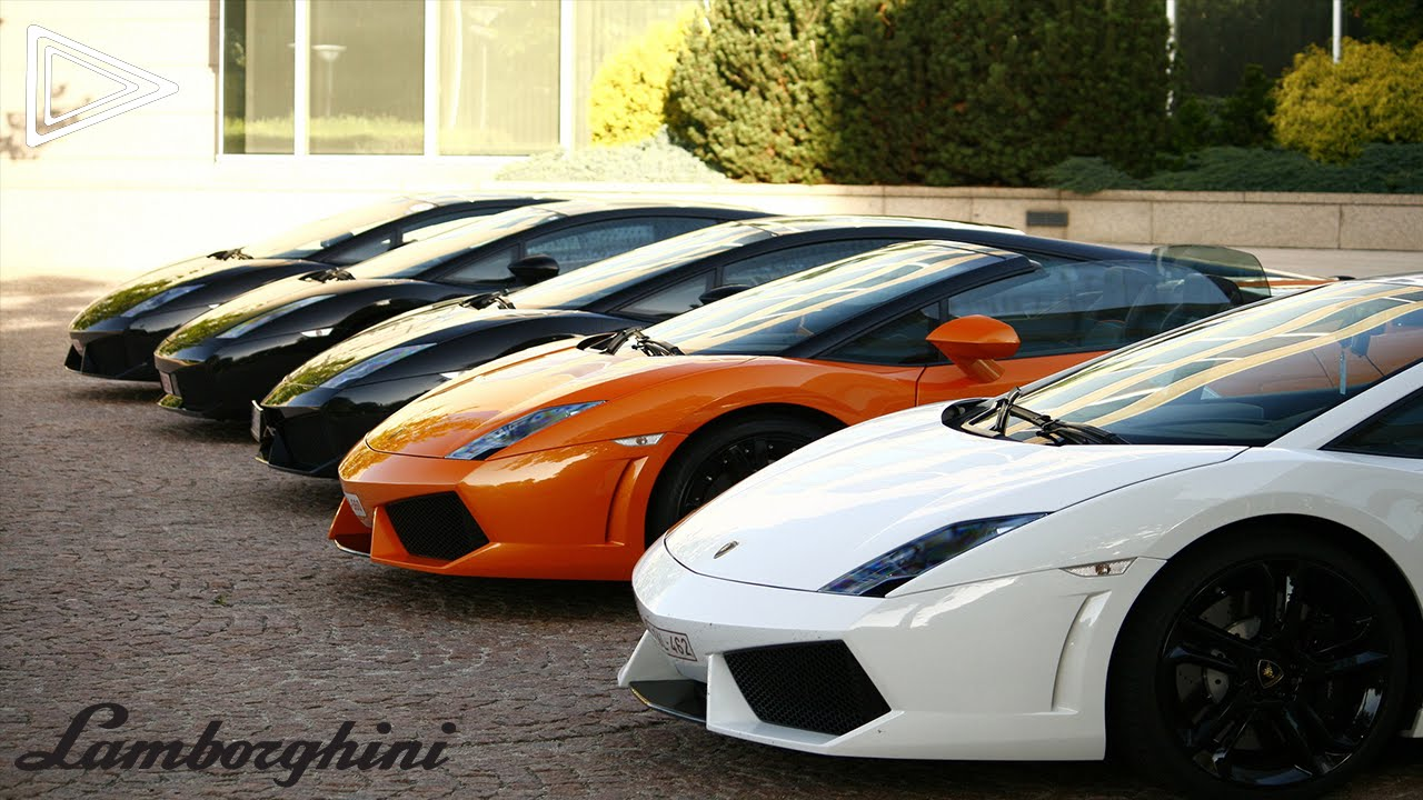 Top 5 Fastest Lamborgini Cars,Included Startups! HD