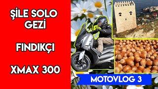 XMAX_RİDERR MOToVLOG 3 | ŞİLE YOLLARI | FINDIK ALMAK | XMAX300 GEÇTİ BİZİ | KIŞIN ÇIPLAK ELLE MOTOR