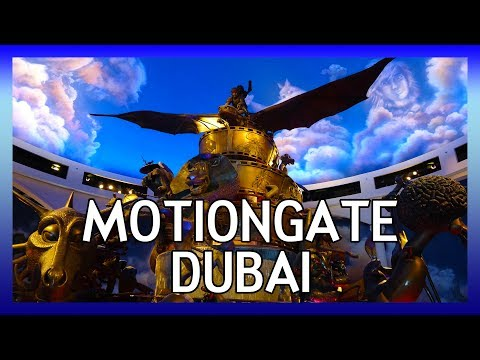 Motiongate Dubai | Hollywood Movie Theme Park in the United