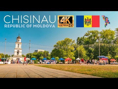 Chisinau in 4K, Republic of Moldova, Cinematic TimeLapse