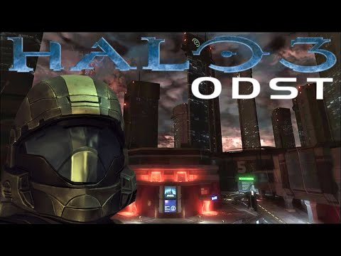 Halo 3: ODST Campaign (Let's Play)- Part 1 - Prepare to Drop / Mombasa Streets