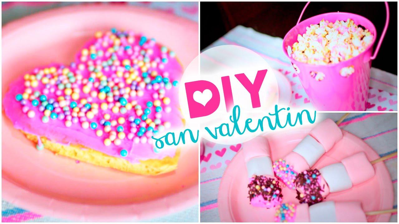 Diy san valentin ideas postres f ciles peliculada - Dulces de san valentin ...