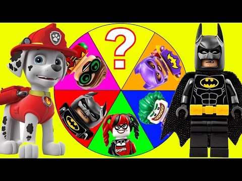 The Lego Batman Movie Game with PJ Masks, Paw Patrol Surprise, Slime, Trolls Toys, Romeo and Poppy