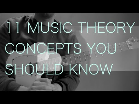11 Music Theory Concepts Every Beginner Musician Needs To Know