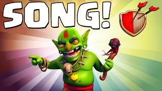 "Clash of Clans ""GOBLIN SONG!"" Clash of Clans Track 4/10 New Album!"