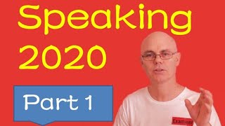 IELTS speaking questions PART ONE [2020]