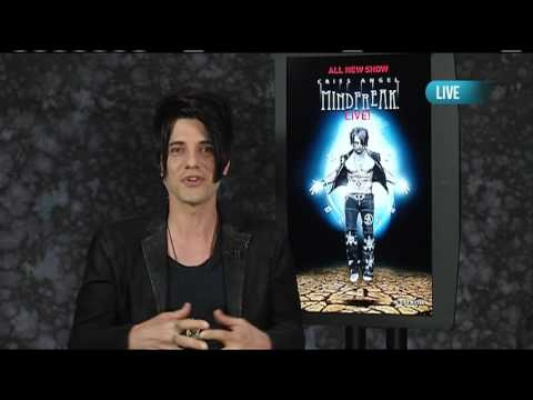 Criss Angel On New Production