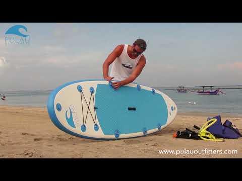 Inflatable SUP-Kayak Combo Set