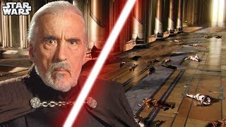 DOOKU SAW ORDER 66!! [CANON] - Star Wars Explained