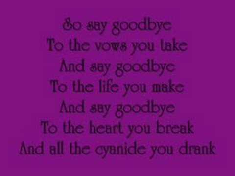 To the End- by My Chemical Romance (lyrics)