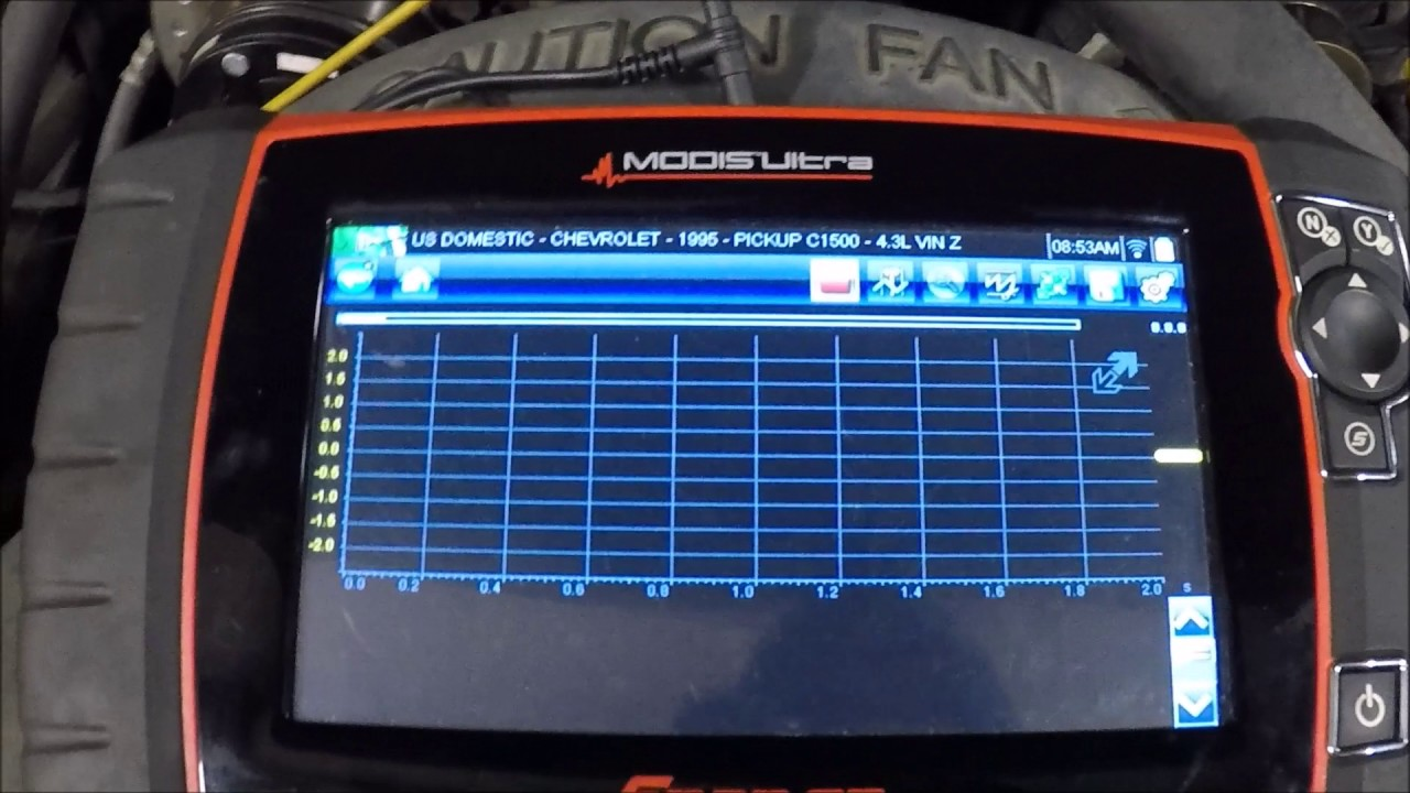 1995 chevy c1500 knock sensor test