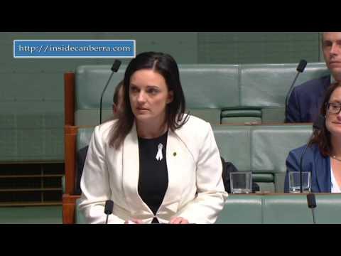 Emma Husar Domestic Violence Speech in Parliament 23 November
