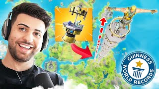 I Broke the DUMBEST Fortnite World Record...