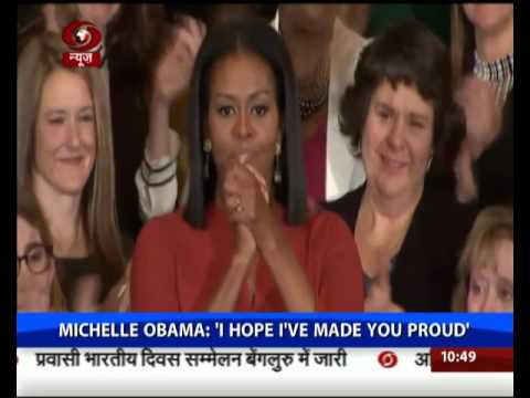 Michelle Obama: Don't Be Afraid. Be Focused. Be Determined