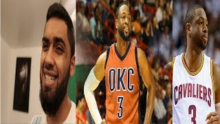 Dwyane wade gets bought out by the chicago bulls reaction! will he go to the thunder or cavaliers!?