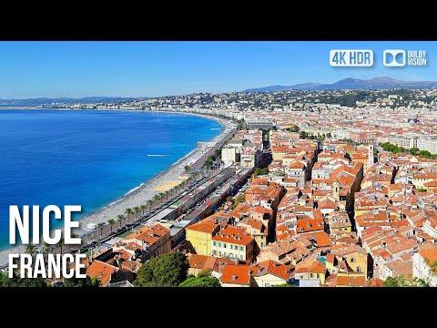 Nice Old Town, Shops, Bars, Restaurants - 🇫🇷 France - 4K Virtual Tour