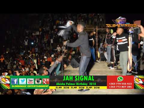JAH SIGNAL LIVE AT ABISHA PALMER BIRTHDAY  MARCH 2018 | SLIMDOGGZ ENTERTAINMENT