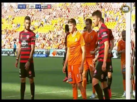 Brisbane Roar vs WS Wanderers 2015