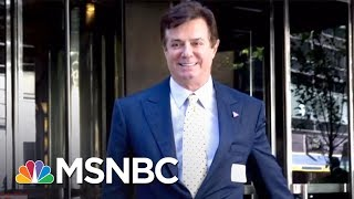 FBI Carries Out Search Warrant At Paul Manafort's Home