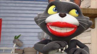 Дуда и Дада на русском - Злой кот Скотт! 😼 Все серии про кота - Сборник