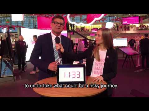 Social Media Post: CeBIT 2017 - 60 seconds with… Stefan Bucher