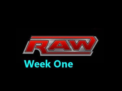 WWE 2K14 Story: Raw Week 1