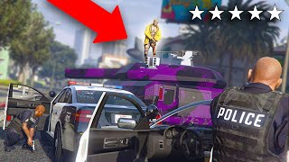 Kicking Someone Out of My Tank While Having 5 Stars | GTA 5 THUG LIFE #299
