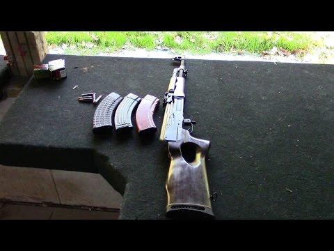 RARE Milled MAK-90 AK-47 Rifle:  At the Range!
