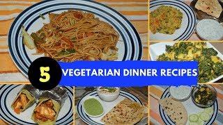 Monday To Friday Dinner/ Lunch Recipes- Part 2| Paneer Kathi Roll/ Bathua Raita/ Noodles/ Khichdi