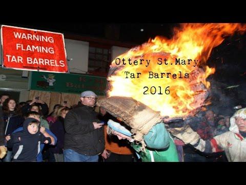 Tar Barrels 2016 | Ottery St Mary Devon