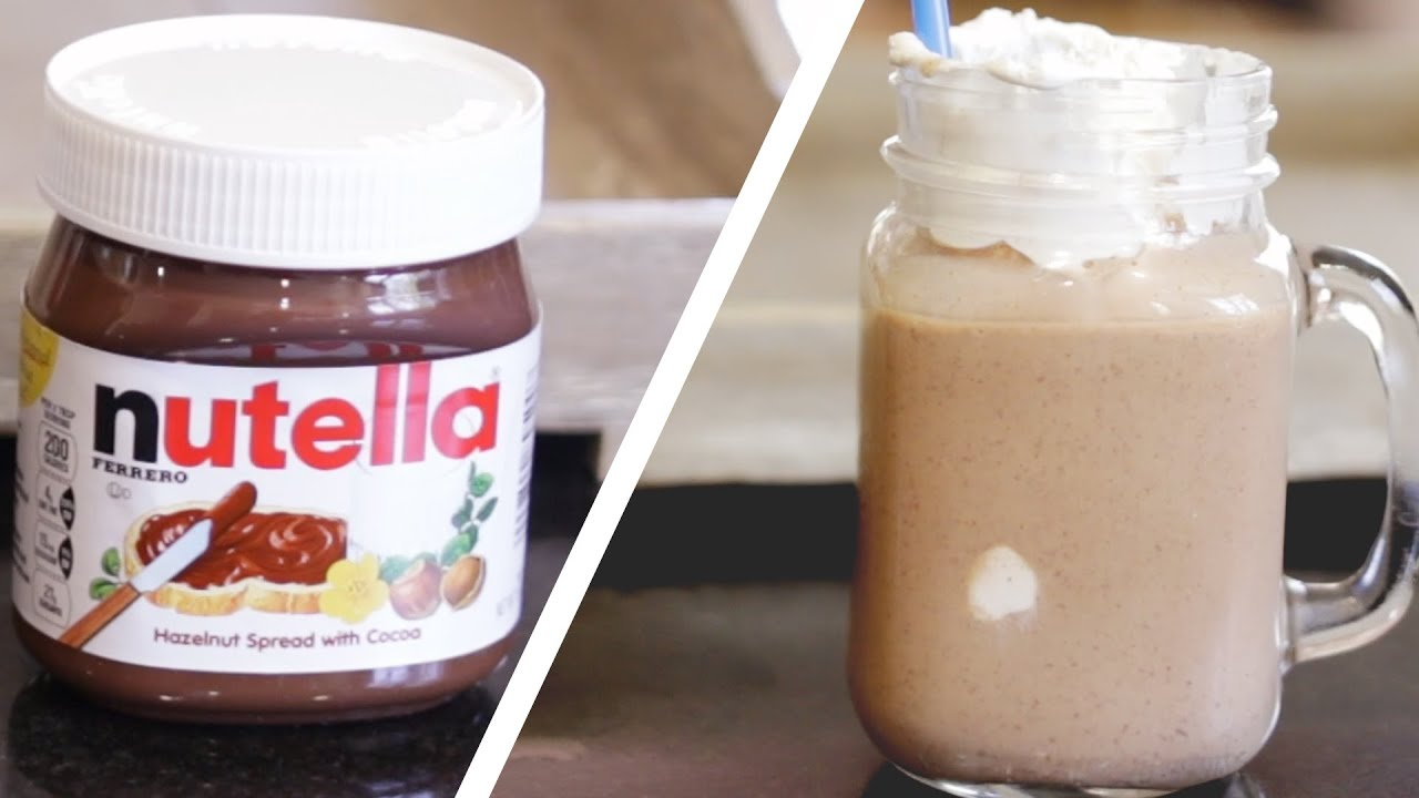 This Nutella And Coffee Milkshake Will Bring You Joy Youtube Go Box Of 12