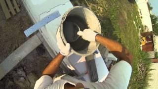 Кладка газобетона Аэробел Белгород(Кладка газобетонных блоков шириной 400мм на клей камера: GoPro Hero 3 BE., 2013-07-11T19:58:00.000Z)