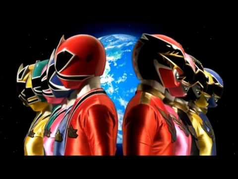 Power Rangers Samurai/Megaforce Theme Mashup