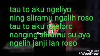 Lirik lagu lungset verS's I jawa