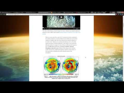 'HAARP' ~ Global Extinction-Level Event 50 GIGATONS of METHANE Could Be Released into Atmosphere ???
