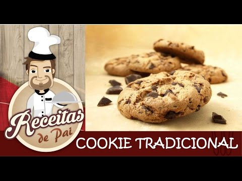 Cookie Gotas de Chocolate 🔶#63 Receitas de Pai