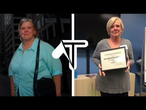 Grandmother's INSPIRING 100+ Pound Weight Loss TRANSFORMATION