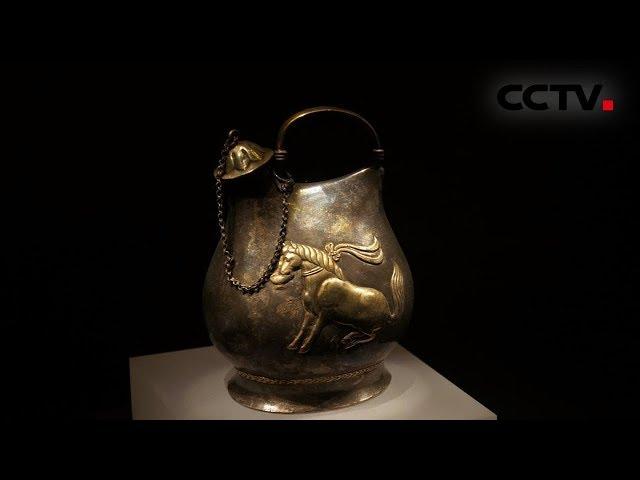 [多彩亚洲] 亚洲文明展 舞马衔杯银壶尽显盛唐开放包容 | CCTV