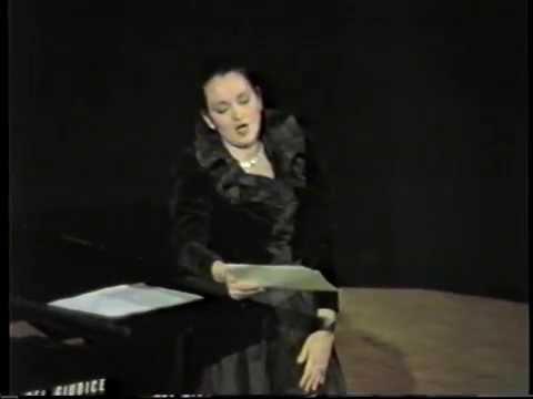 Cecilia Gasdia nella NINA di Paisiello -Taranto 1988