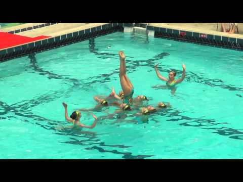 Limoges N3 Nat Synchro Colomiers 24/06/2012 : ballet Formation