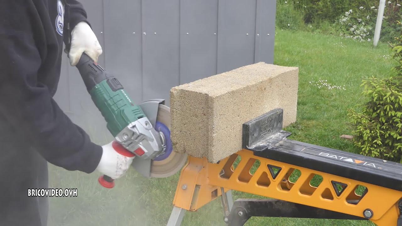 Parkside Pws 230 Lidl Test Parpaing Angle Grinder